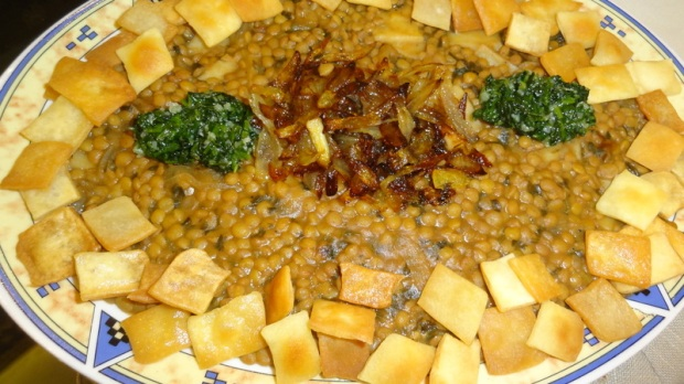 Tabkhet el yom for Arabic cuisine names